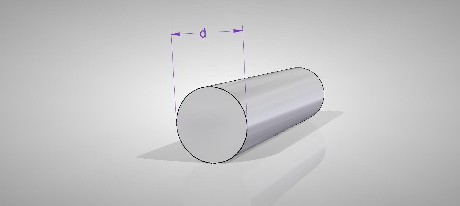Aluminium Rundrohr AlMgSi05 /Ø 14x2mm 140cm auf Zuschnitt L/änge 1400mm