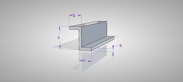 Aluminium Z-Profil (AlMgSi0,5)