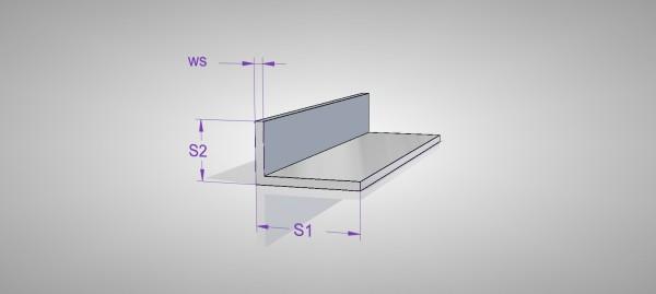 Aluminium Winkel (AlMgSi0,5)